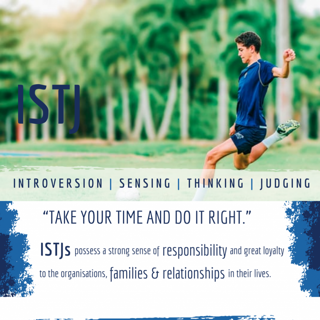 ISTJ: Take your time and do it right